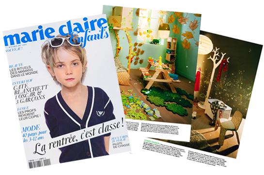 Marie claire enfants num ro 1 automne 2010 - Les enfants du design ...