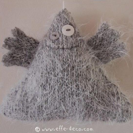 Doudou Fantome tricot - © www.elle-blog.com