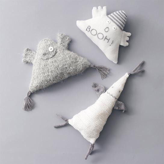 Kit Créatif Tricot Doudou Fantomes - Design: Bergère de France