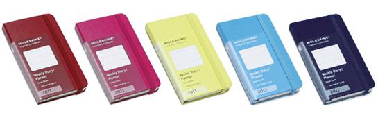 Agenda Moleskine Mini Planner - Moleskine, 2011