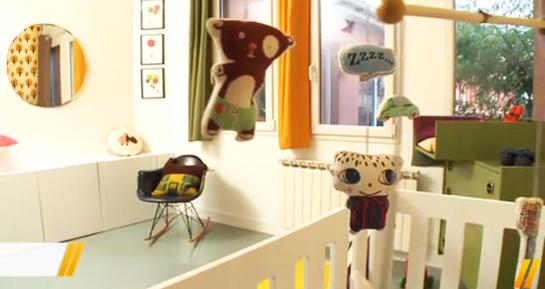Accessoires pour décorer la pièce du bébé