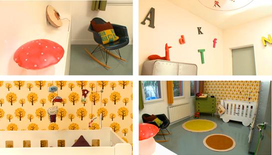 Chambre d\'enfant design et vintage - Relooking d\'Intérieurs