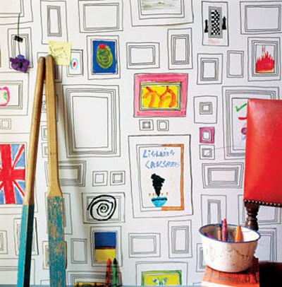 Papier peint à colorier - Design Taylor et Wood pour Graham & Brown