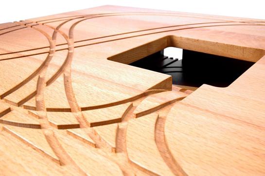 Table de Train - Design: Tomm Velthuis