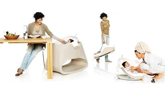 Enfin Un Transat Design Le Stokke Bounce N Sleep