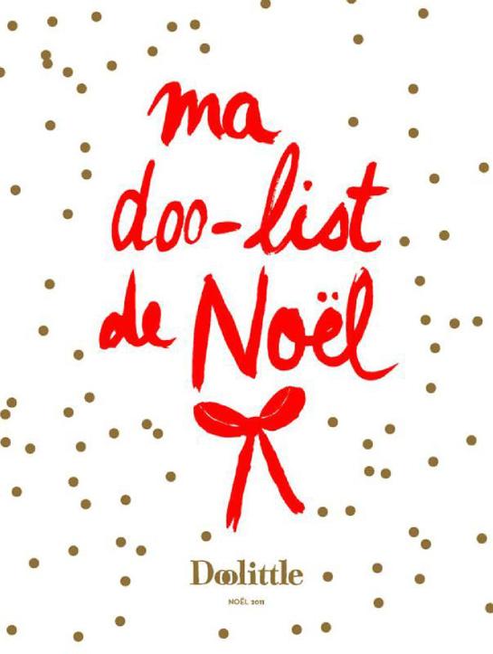 Liste de cadeaux de Noël design des Enfants du Design
