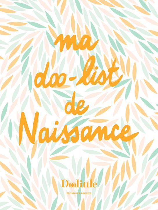Notre Liste De Naissance Design Pour Le Magazine Doolittle