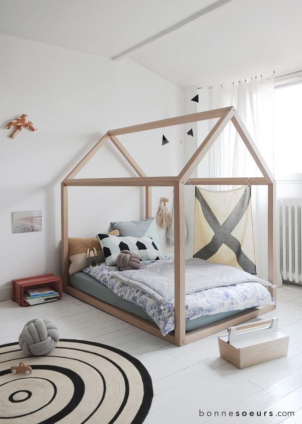 Bonnesoeurs Le lit maison