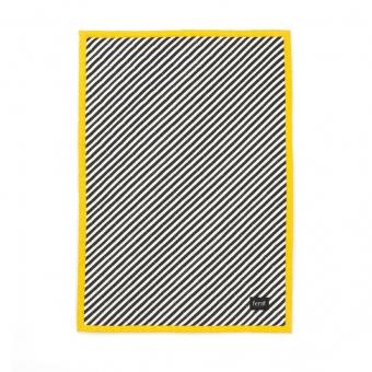plaid stripe jaune ferm living pour chambre enfant les enfants du design. Black Bedroom Furniture Sets. Home Design Ideas