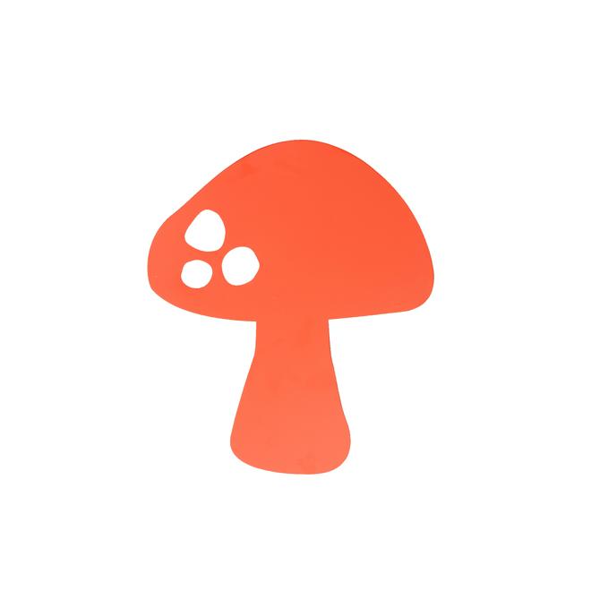 lampe applique champignon corail ferm living pour chambre enfant les enfants du design. Black Bedroom Furniture Sets. Home Design Ideas