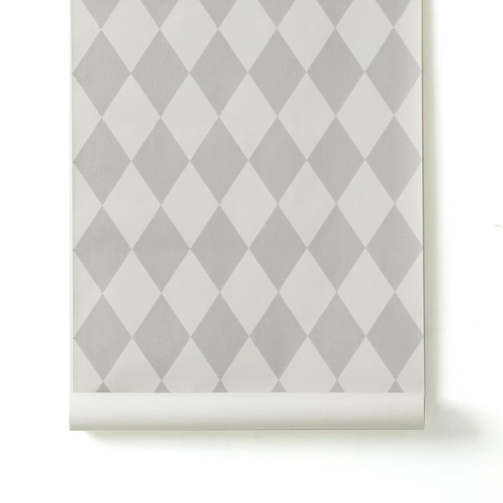 Papier Peint Harlequin Gris Ferm Living Pour Chambre Enfant Les Enfants Du Design