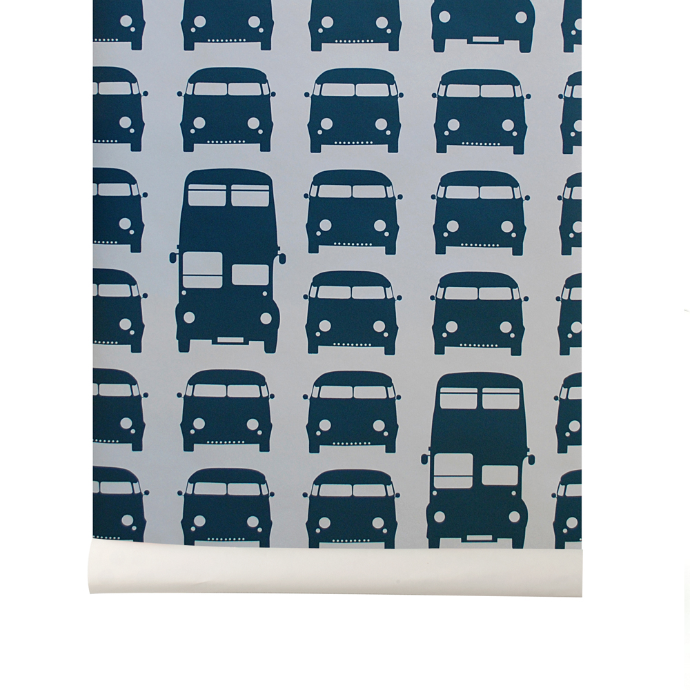 Papier peint voitures rush hours ferm living pour chambre enfant les enfant - Papier peint ferm living ...