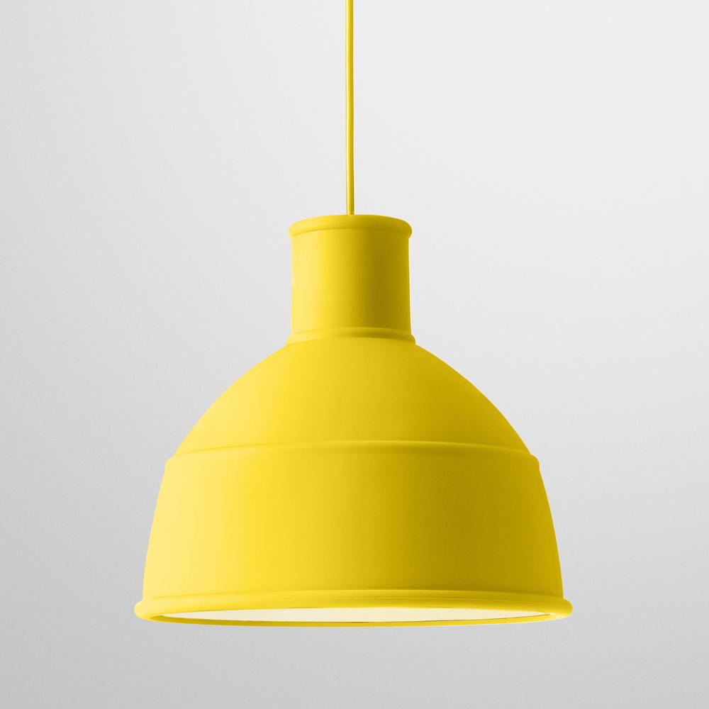 suspension unfold jaune muuto suspensions design pour chambre d 39 enfant les enfants du design. Black Bedroom Furniture Sets. Home Design Ideas