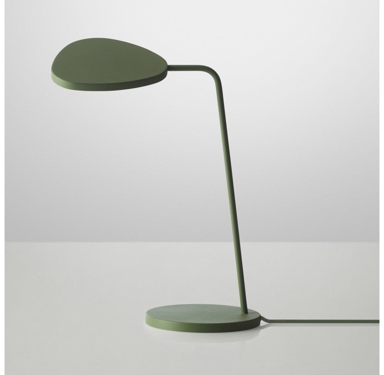 Ultra Lampe à poser Leaf - Kaki Muuto pour chambre enfant - Les Enfants TC-46