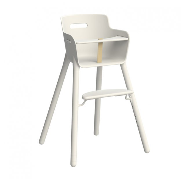 chaise haute volutive blanc flexa pour chambre enfant les enfants du design. Black Bedroom Furniture Sets. Home Design Ideas