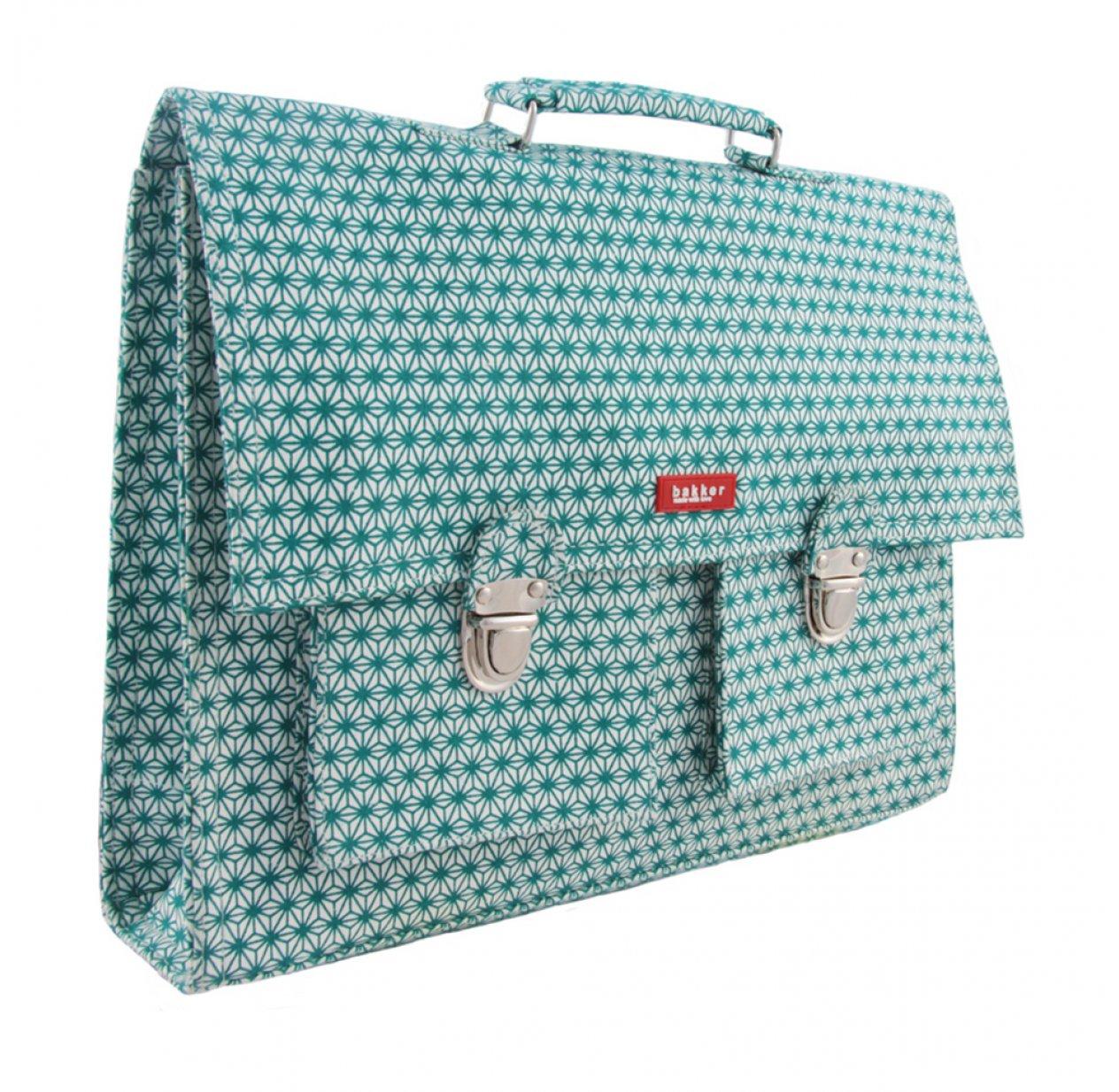 nouveaux styles 886fe eac74 Cartable X Turquoise