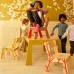 Chaises et bureaux enfant