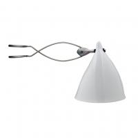 Lampe Cornette à pincer - Porcelaine émaillée