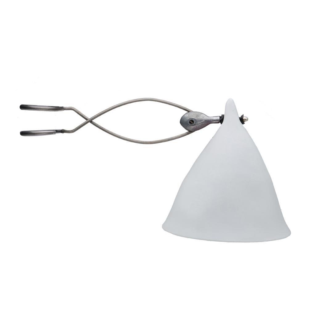 lampe cornette pincer porcelaine blanche mate ts ts pour chambre enfant les enfants du. Black Bedroom Furniture Sets. Home Design Ideas