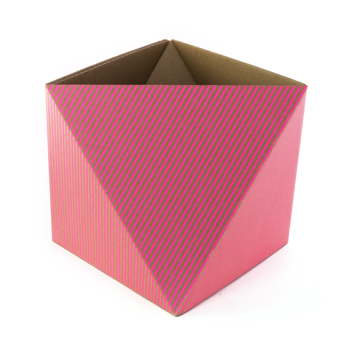 corbeille papier octa rose fluo adonde pour chambre enfant les enfants du design. Black Bedroom Furniture Sets. Home Design Ideas