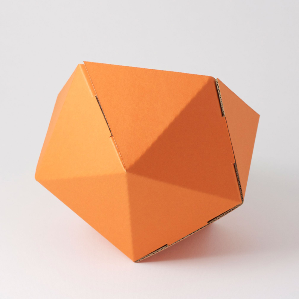 corbeille de rangement orange adonde pour chambre enfant. Black Bedroom Furniture Sets. Home Design Ideas