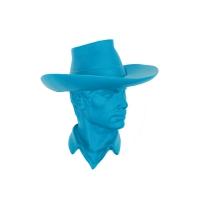 Patère Cowboy - Turquoise