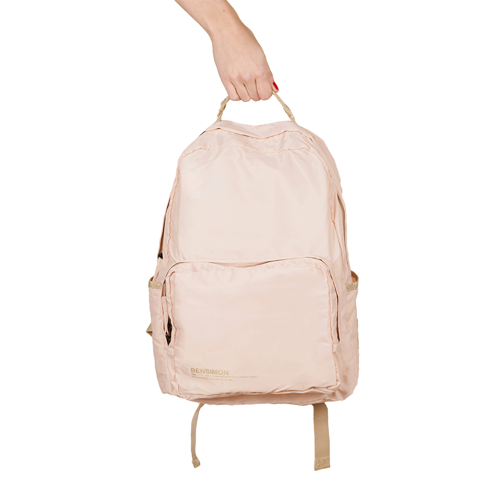 sac dos rose p le bensimon pour chambre enfant les enfants du design. Black Bedroom Furniture Sets. Home Design Ideas
