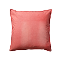 Coussin denim - Orange