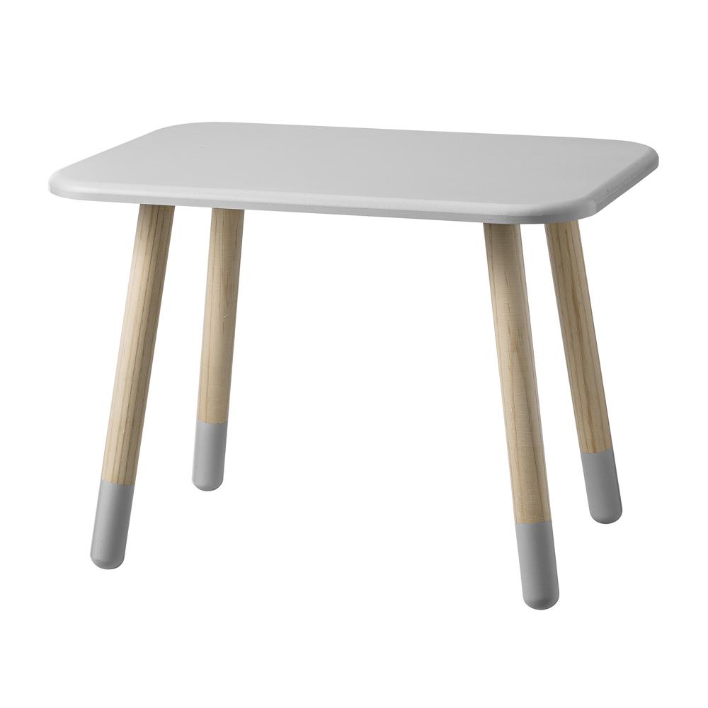 Table enfant gris clair bloomingville pour chambre - Table de mixage pour enfant ...