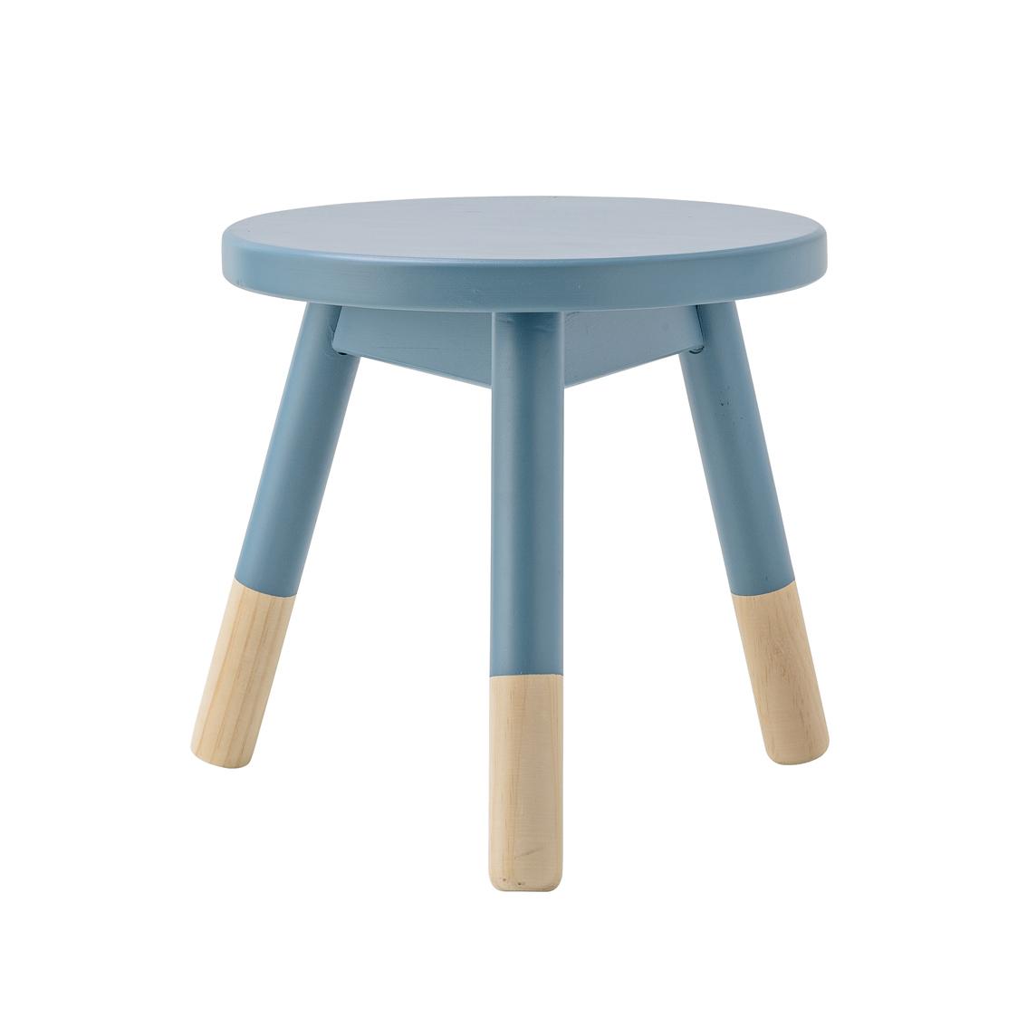 tabouret enfant bleu bloomingville pour chambre enfant les enfants du design. Black Bedroom Furniture Sets. Home Design Ideas