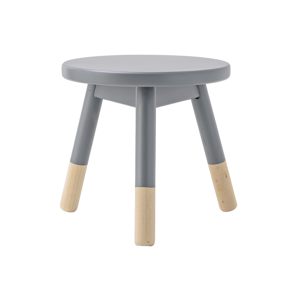 tabouret enfant gris bloomingville pour chambre enfant les enfants du design. Black Bedroom Furniture Sets. Home Design Ideas