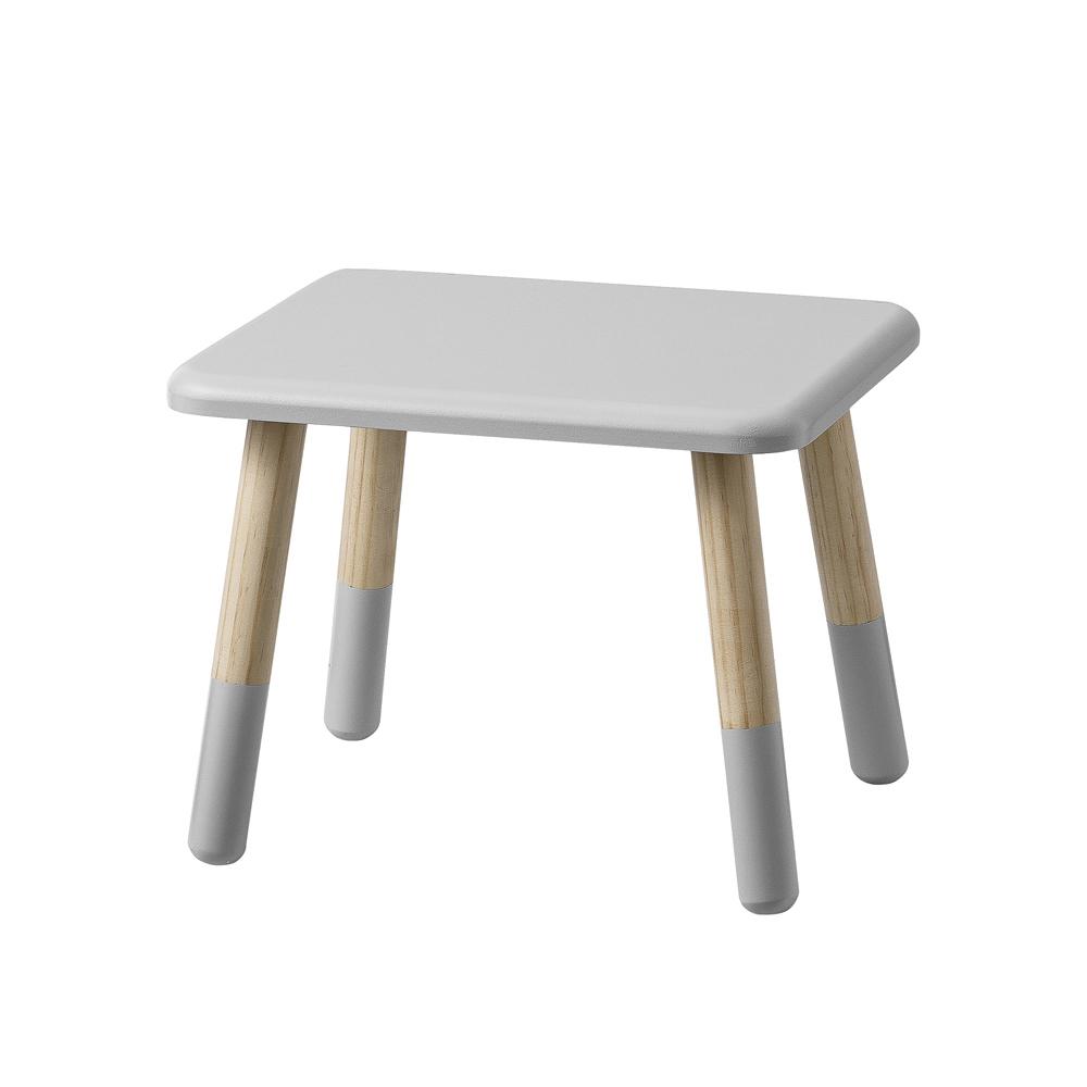 tabouret enfant gris clair bloomingville pour chambre. Black Bedroom Furniture Sets. Home Design Ideas