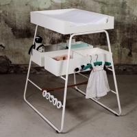Table à langer CHANGINGtower - Blanc