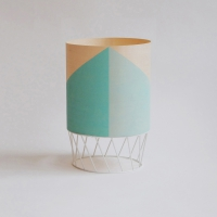 Petite lampe Dowood - bleu