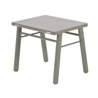 Table enfant Laqué gris clair