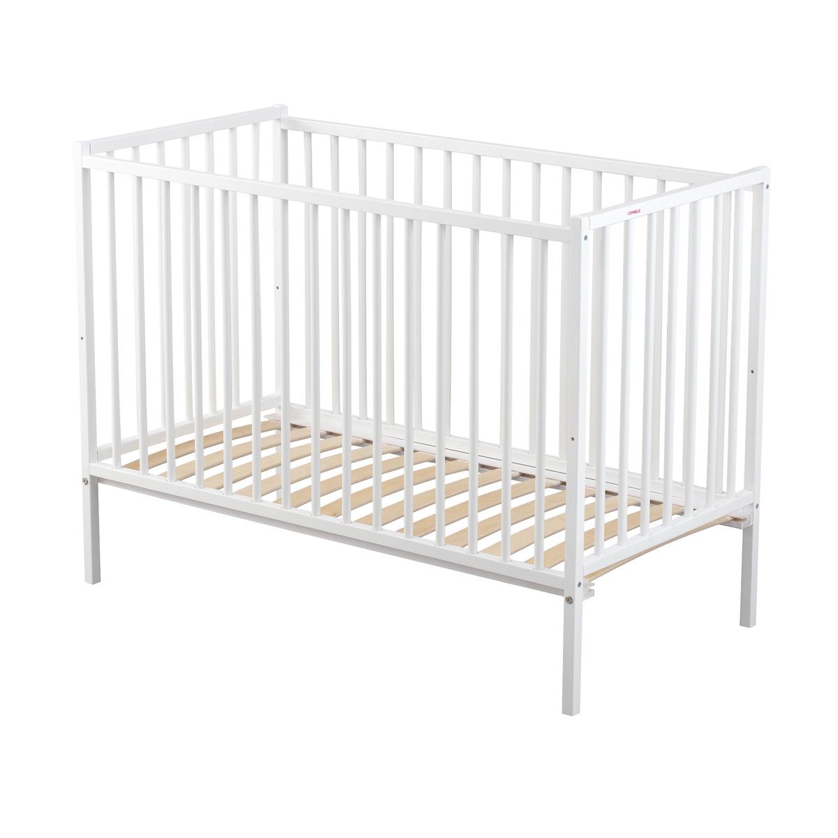 lit b b r mi laqu blanc combelle pour chambre enfant les enfants du design. Black Bedroom Furniture Sets. Home Design Ideas