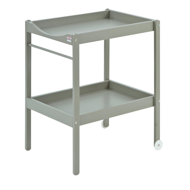 Table langer alice laqu gris clair combelle pour - Table a langer design ...