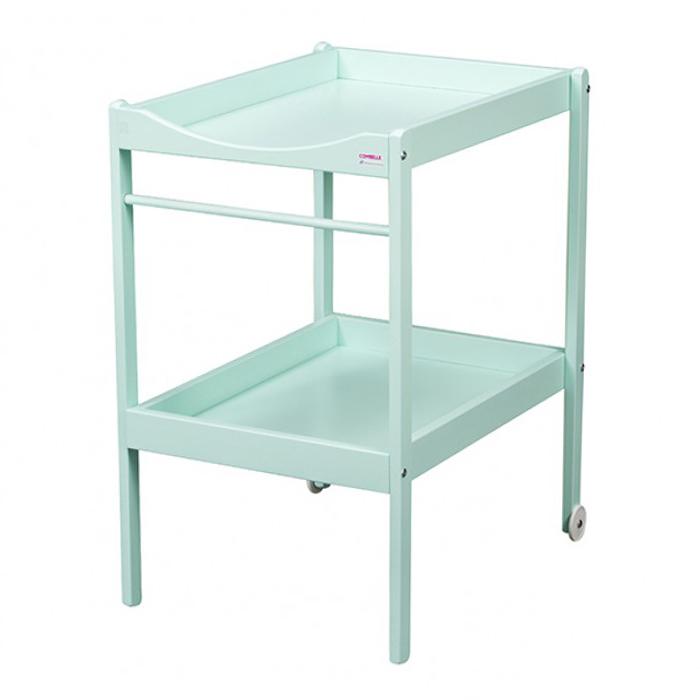 Table langer alice laqu mint combelle pour chambre - Table a langer design ...