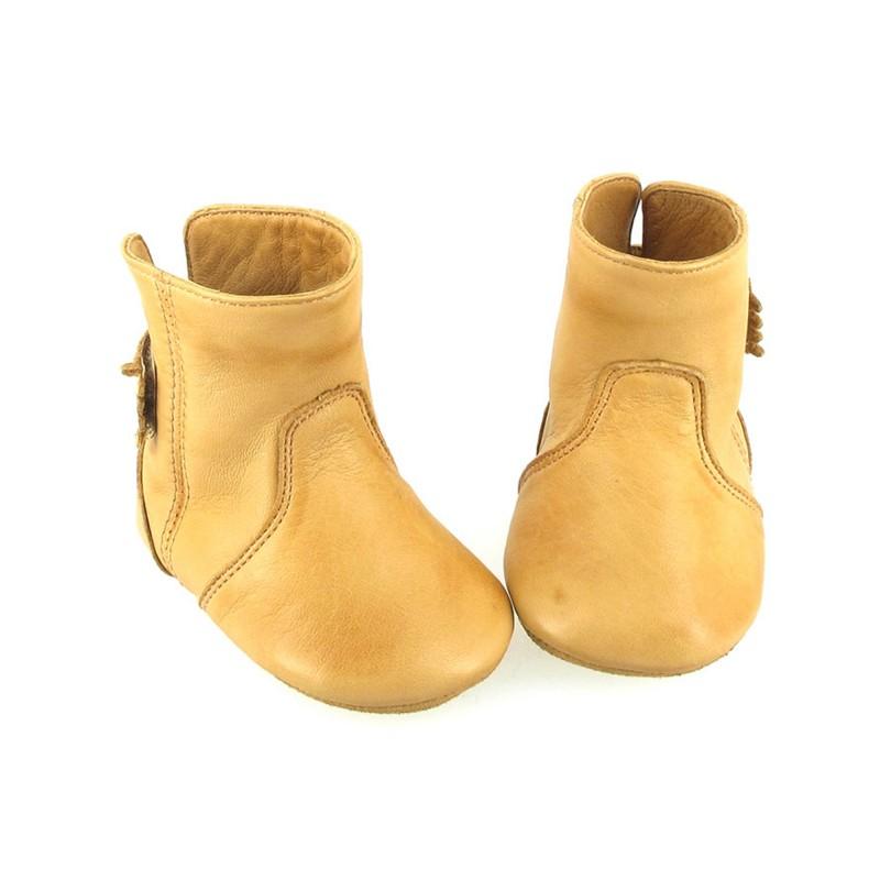 chaussons boubotte cuir naturel easy peasy pour chambre enfant les enfants du design. Black Bedroom Furniture Sets. Home Design Ideas