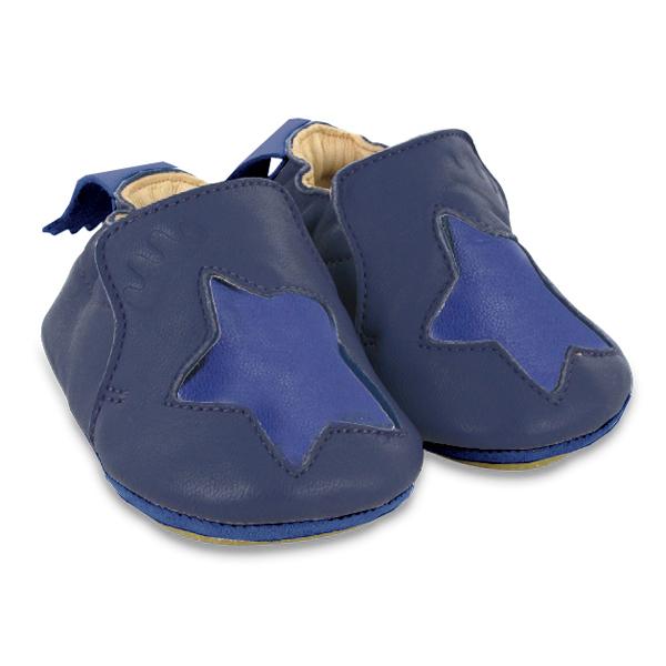 chaussons blublu etoile bleu easy peasy pour chambre enfant les enfants du design. Black Bedroom Furniture Sets. Home Design Ideas