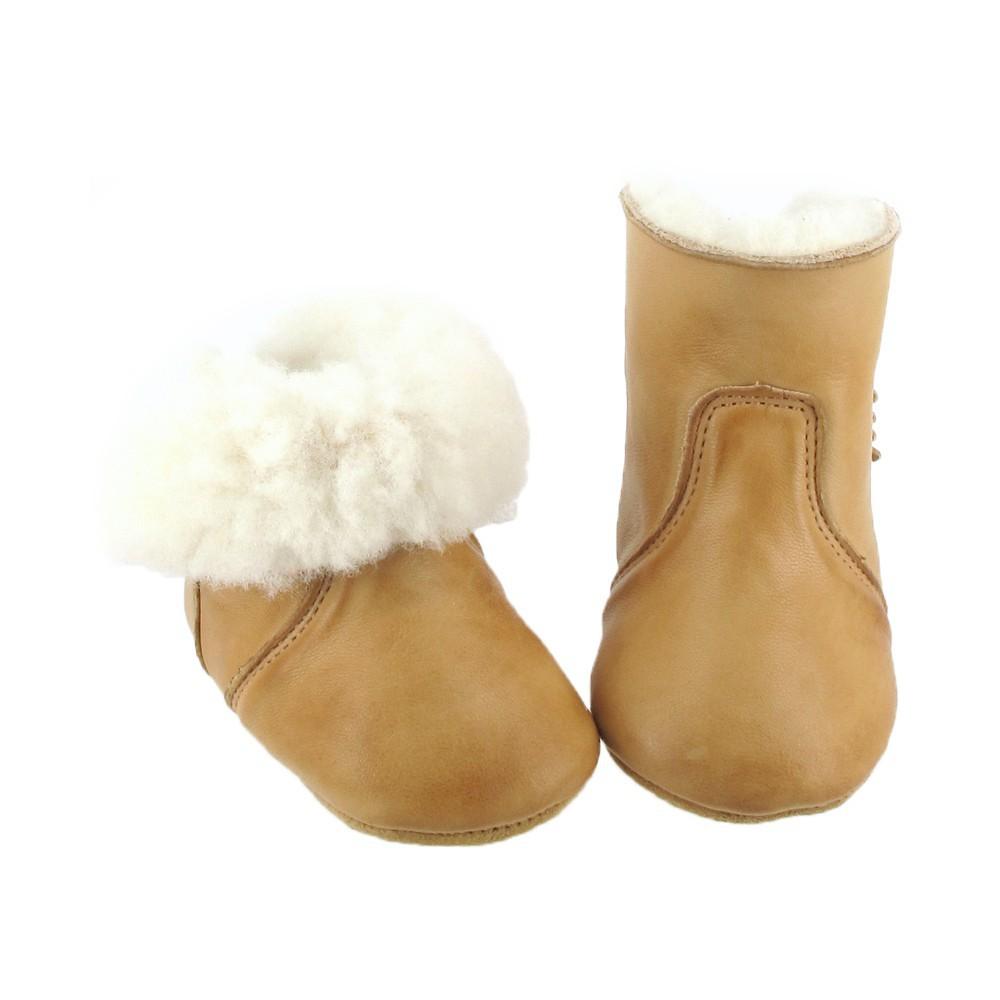 chaussons chobotte cuir naturel easy peasy pour chambre enfant les enfants du design. Black Bedroom Furniture Sets. Home Design Ideas