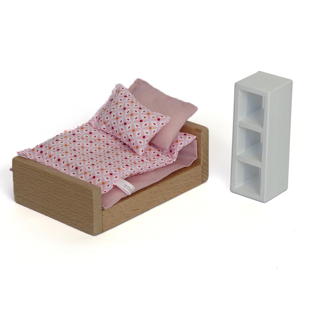 Mobilier de chambre rose encore pour chambre enfant for Mobilier de chambre