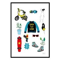 Affiche Eco Héros