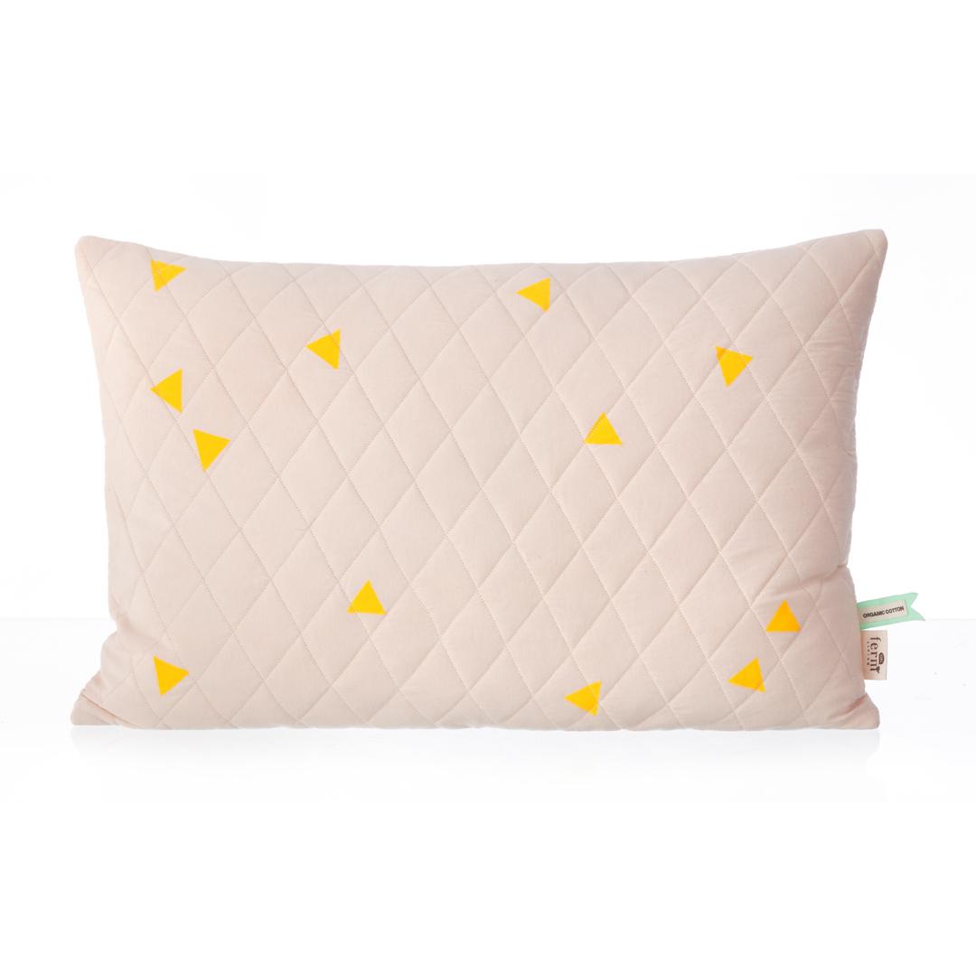 coussin teepee rose ferm living pour chambre enfant les enfants du design. Black Bedroom Furniture Sets. Home Design Ideas