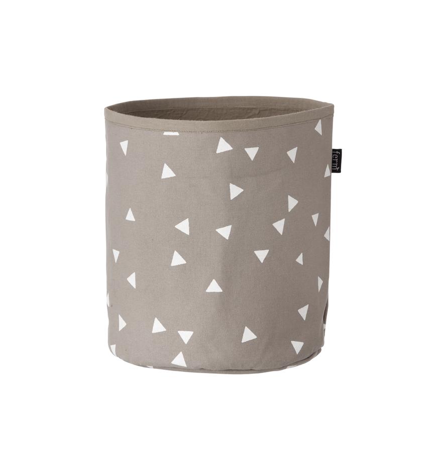 petit panier de rangement triangle ferm living pour chambre enfant les enfants du design. Black Bedroom Furniture Sets. Home Design Ideas