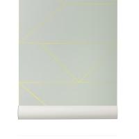 Papier peint Lignes - Mint