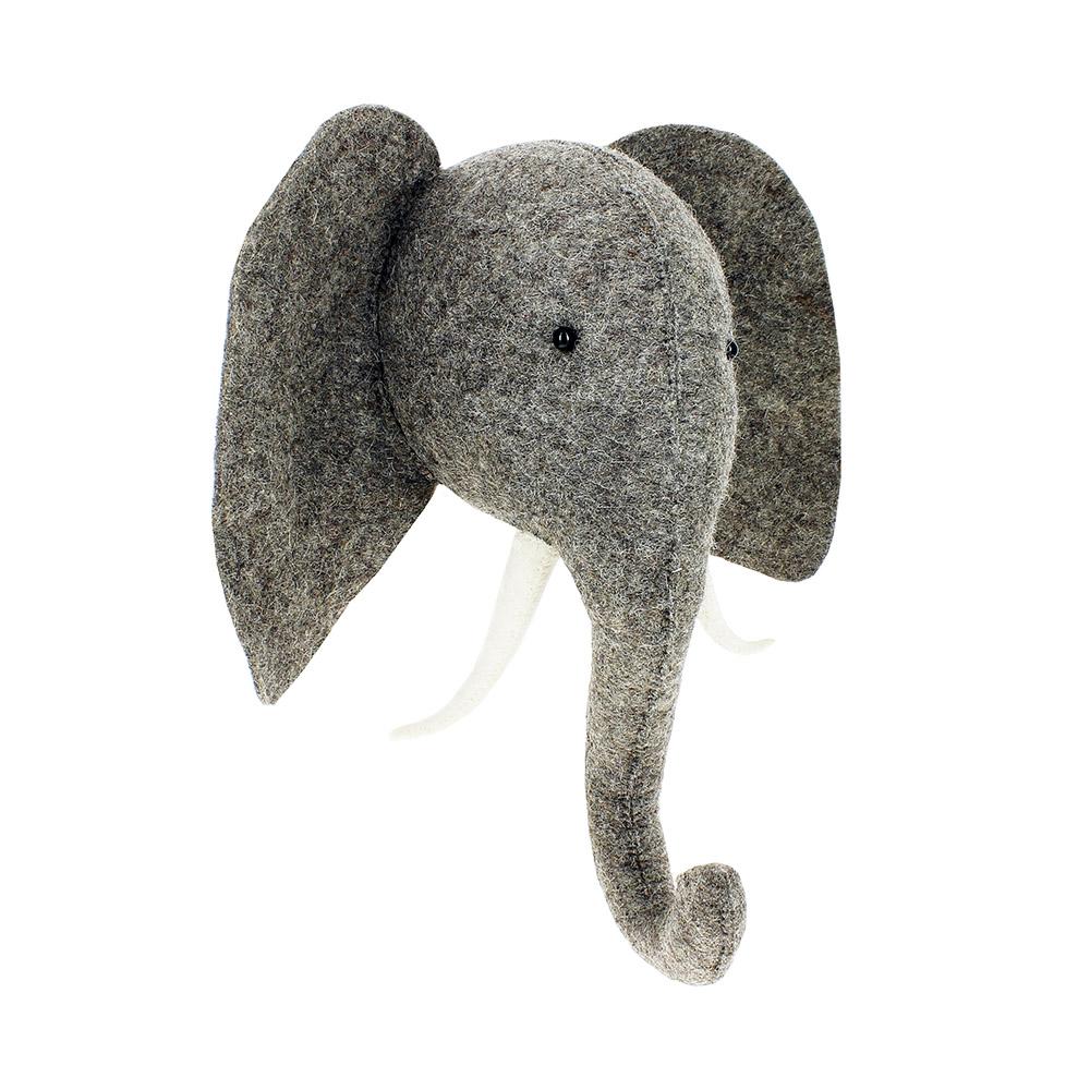 troph e elephant fiona walker pour chambre enfant les enfants du design. Black Bedroom Furniture Sets. Home Design Ideas