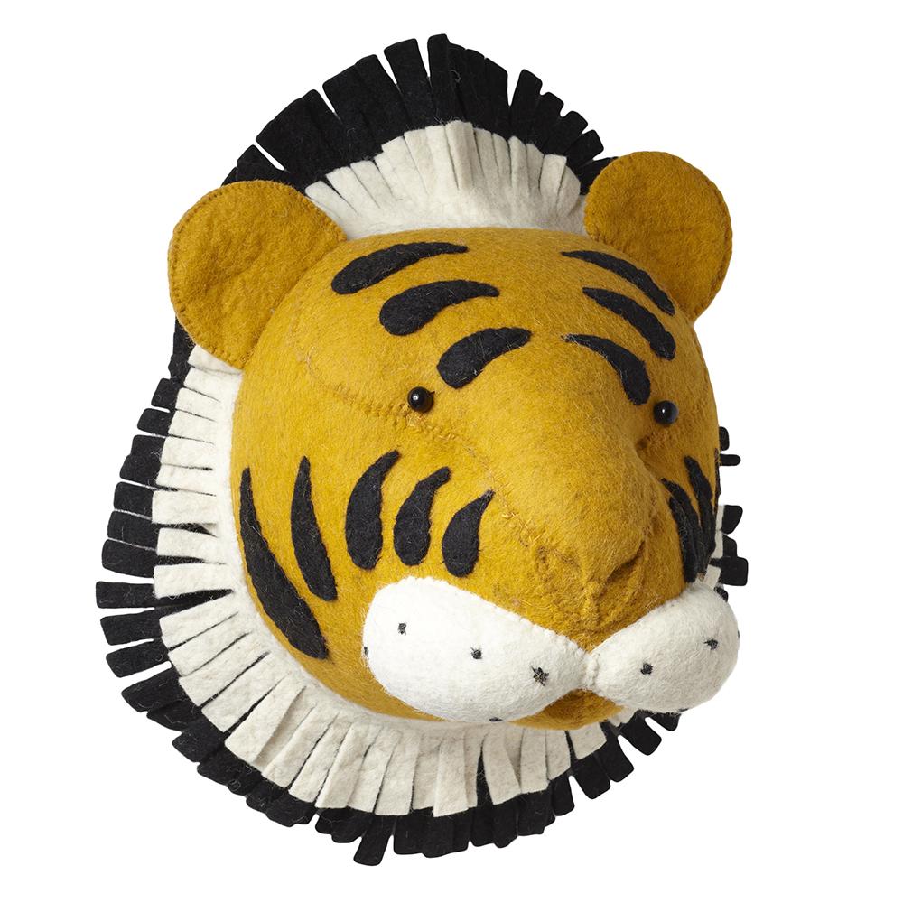 Troph e tigre fiona walker pour chambre enfant les enfants du design - Trophee animaux design ...