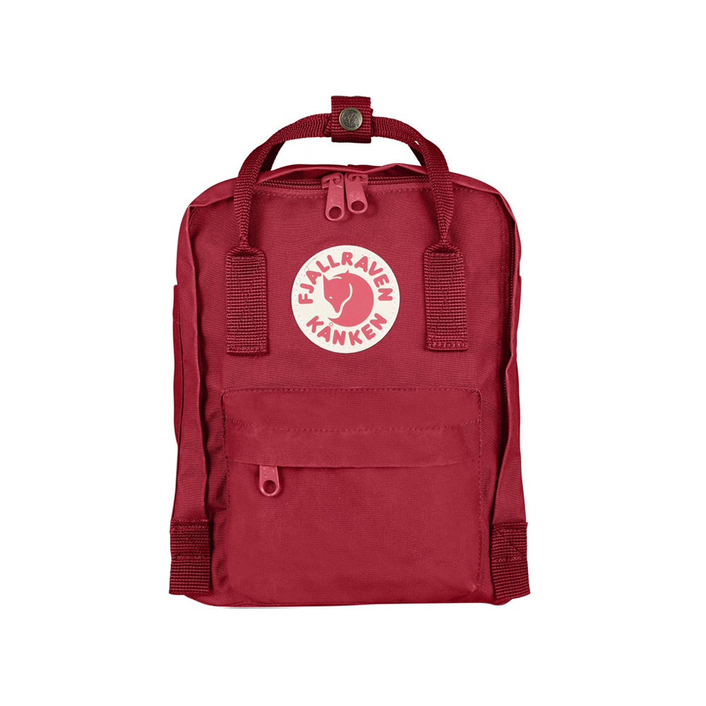 sac dos kanken mini rouge fjallraven pour chambre enfant les enfants du design. Black Bedroom Furniture Sets. Home Design Ideas