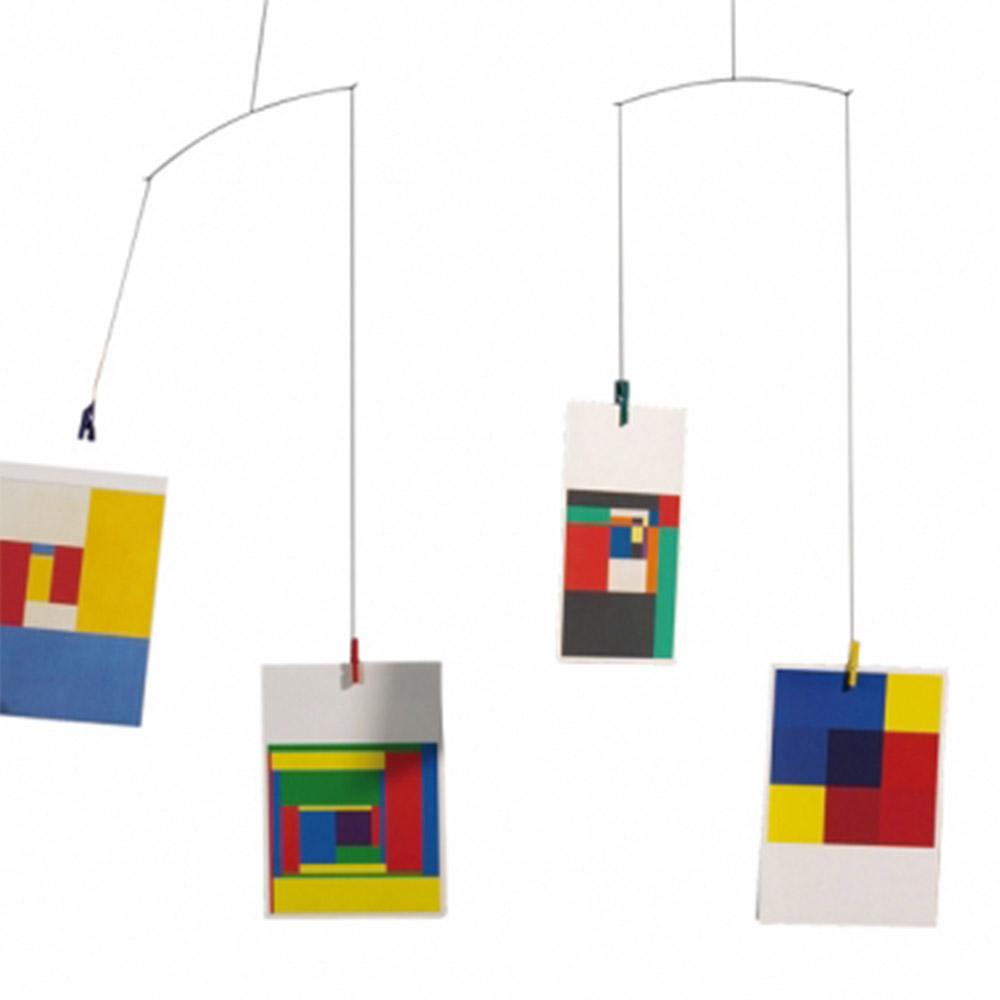 mobile cartes postales multicolore flensted pour chambre. Black Bedroom Furniture Sets. Home Design Ideas